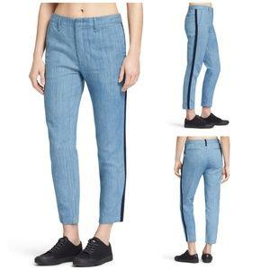 NWT Rag & Bone Denim Chino Cropped Pants